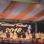Festival Tabut Resmi di Tutup Menteri Pariwisata RI