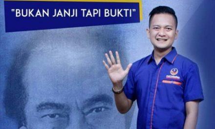 Caleg Generasi Milenial, Michael Putra Ferly Berjuang ke Senayan