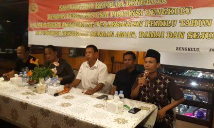 Kapolda Rangkul LSM Se-Provinsi Bengkulu, Ciptakan Pemilu Damai