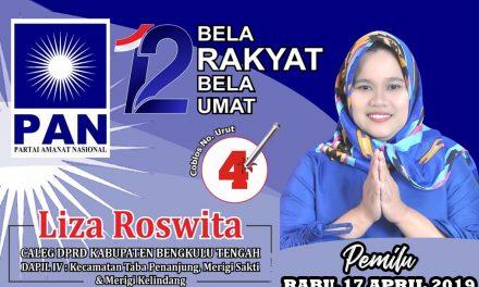 PAN No 4 : Liza Roswita Sosok Wakil Rakyat Yang Diharapkan