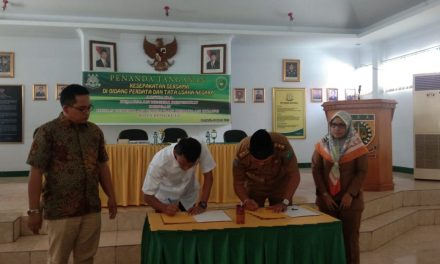 Kadis PUPR Menjalin Kerjasama MOU Dengan Kejaksaan Negeri Bengkulu