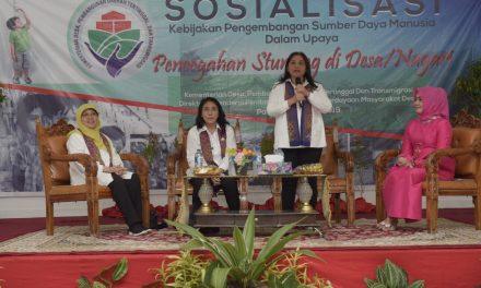 Kemendes PDTT Bersama OASE KK Lakukan Pencegahan stunting di Desa