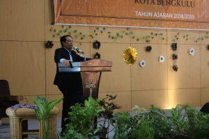 Dedy Wahyudi Hadiri Kelulusan Siswa SMA N 5 Kota Bengkulu