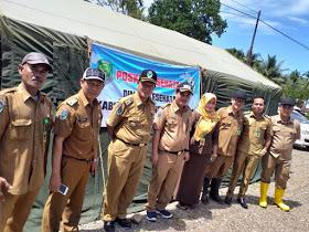 Dinkes Provinsi Bengkulu Kunjungi Posko Bencana Banjir Kabupaten Bengkulu Tengah