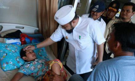 Helmi Hasan Kunjungi Lokasi Dampak Banjir di Kota Bengkulu