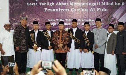 Gubernur Bengkulu Aspresiasi Pada Anak Tahfidz Al-Qur'an di Pesantren Qur'an Al-Fida