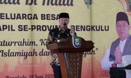 Gubernur Bengkulu Hadiri Halal Bi Halal Dinas Dukcapil