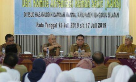 Bupati Bengkulu Selatan Minta Manajemen dan Pegawai RSUD Teken Kontrak Kerja