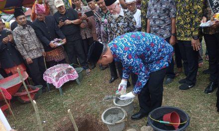 Batu Pertama Klinik Muhammadiyah di Letakan Oleh Gubernur Bengkulu
