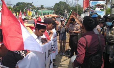 Cinta Papua GAB Gelar Aksi Damai