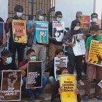 "Jurnalis Bengkulu Gelar Ujuk Rasa ""Stop Kriminalisasi"""