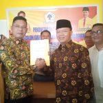 Rohidin Mersyah Akhirnya Resmi Ambil Formulir Balon Gubernur