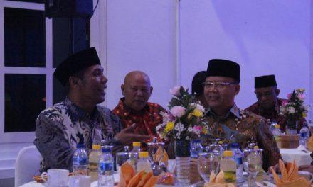 Gubernur Gelar Ramah Tamah dan Syukuran di Rumah Dinas