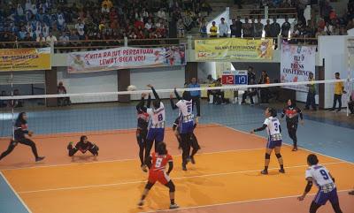 Tim Volly Putri Bengkulu Berhasil Kalahkan Jambi Dengan Skor 3-0