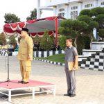 Bupati Mukomuko Gelar Upacara Peringatan Hari Pahlawan Nasional