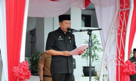 Sekda Provinsi Pimpin Upacara Peringatan Hari Kesehatan Nasional Ke-55