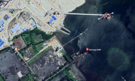 Pelabuhan Pulau Baai : Perdana Ekspor Batu Bara ke Negara India